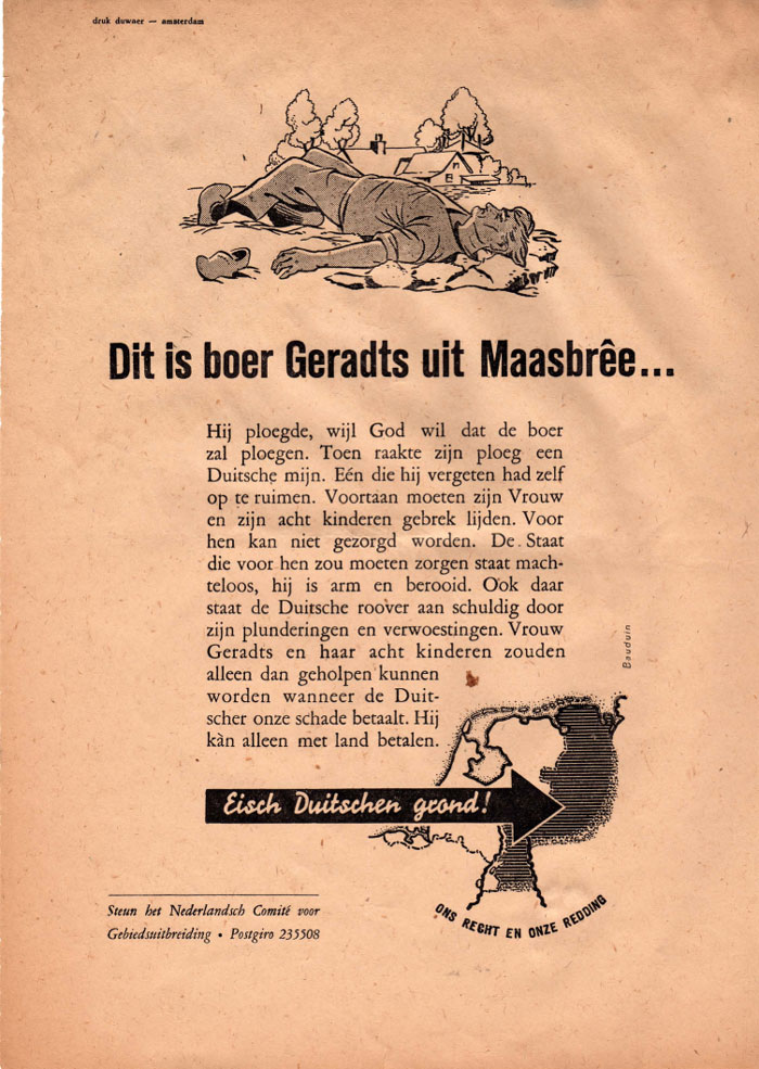 Folder.Dit is boer Geradts uit Maasbree.